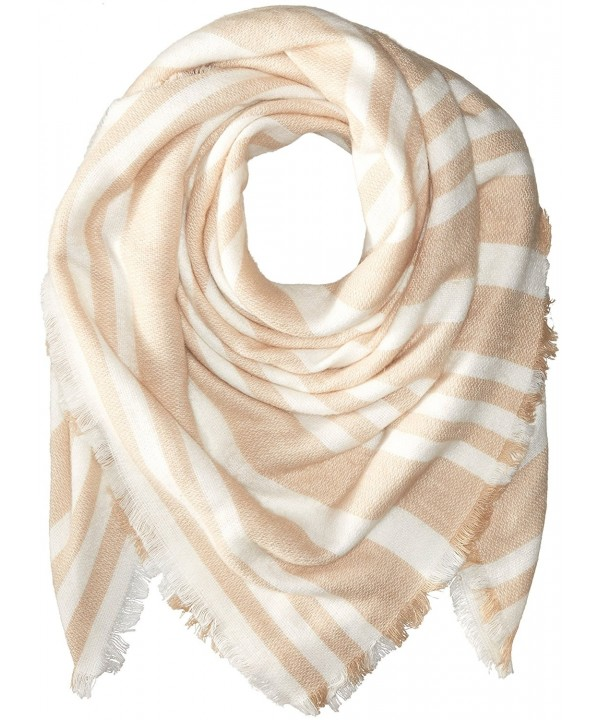 BCBGeneration Women's Striped Square Scarf - Sienna - C612GFZ56GN
