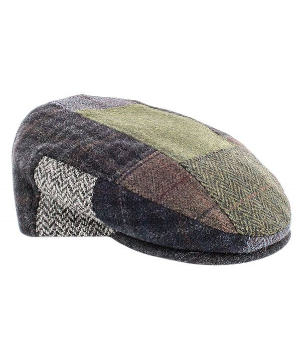 Mucros Weavers Patch Flat Cap - CD12O9PRSN0