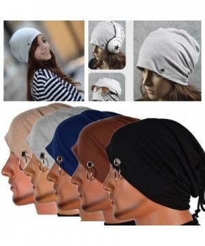 Chunshop Multifunction Lacing Beanie Hip Hop in Men's Skullies & Beanies