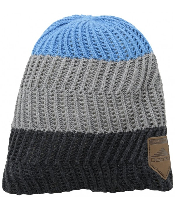 Discrete Abstract Beanie - Sooth Blue - C511FR0910Z