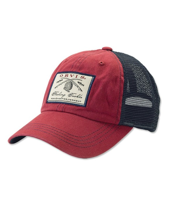 Orvis Vintage Trucker Cap - RED/NAVY - CJ12DSFX7I7
