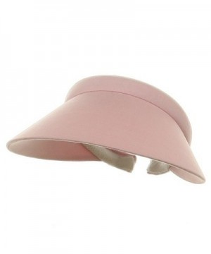 Ladies Clip On Visor-Pink - CY111QREAML