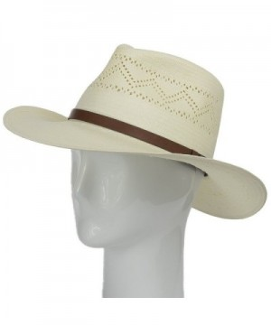 HAVANA Fedora Vented Outback Ultrafino in Men's Sun Hats