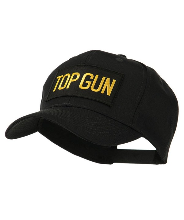 Military Related Text Embroidered Patch Cap - Top Gun - C511FITVCU7