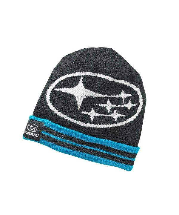 Genuine Subaru Star Cluster Cuff Beanie Hat Impreza STI WRX Racing Ski Snow New - CO12GLOUFAJ