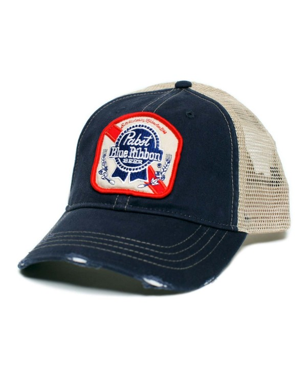 Pabst Blue Ribbon Trucker Hat - C7186NOIK8R