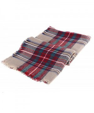 VirgoL Womens Stylish Tassels Blanket