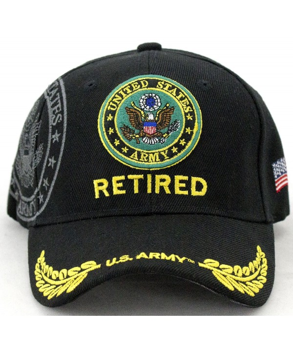 United States Army Retired Baseball Cap - CS128SXMUWX