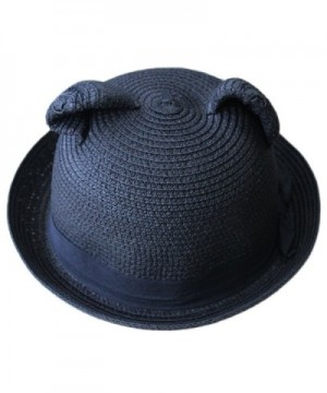 Womens Round Bowler Summer Roll up in Women's Sun Hats