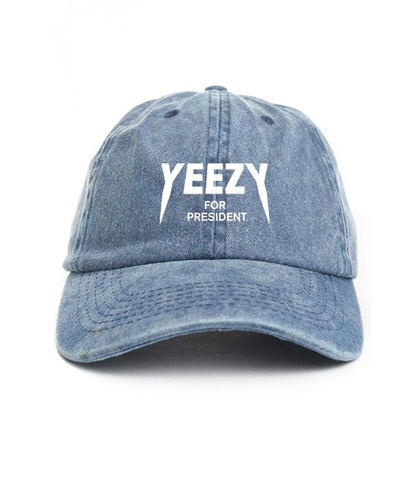 Yeezy For President Denim Unstructured Hat - CR12O1BBALY