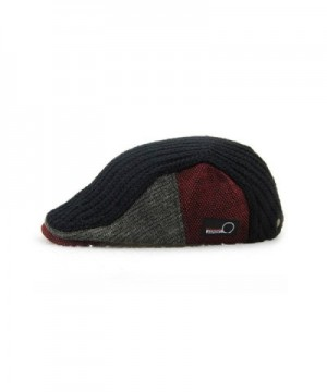 YCHY Knitted duckbill newsboy Scally in Men's Newsboy Caps