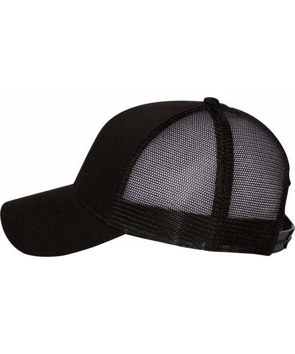 Econscious - Trucker Cap - 7070 - Adjustable - Black/ Black - C411CYPVQL3