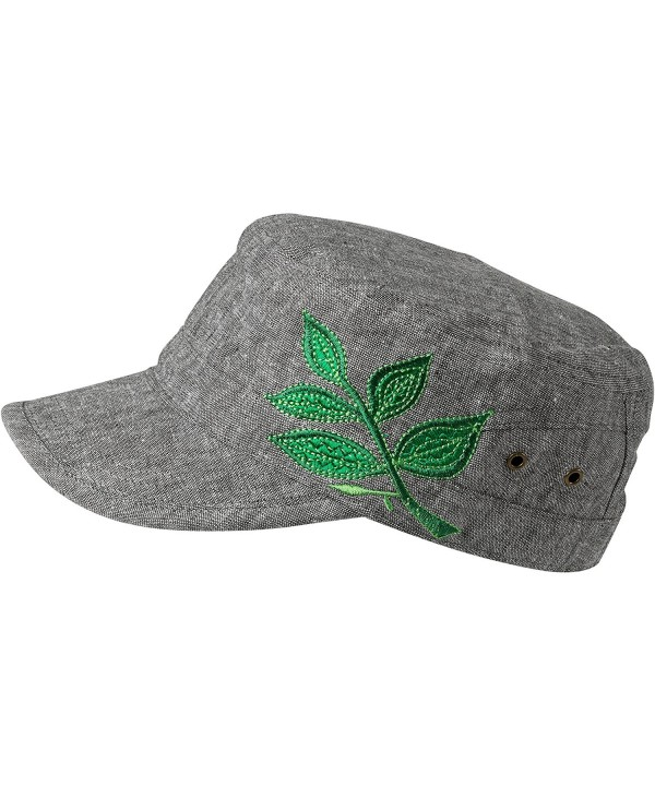 Turtle Fur Branch Out Women's Lightweight Adjustable Cadet Cap - Green - CO122WZKLMT