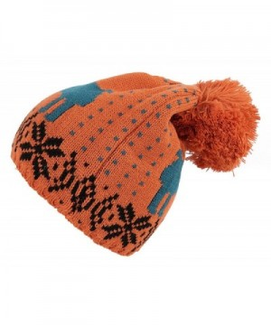 Kaisifei Winter Christmas Knitted Orange in Fashion Scarves