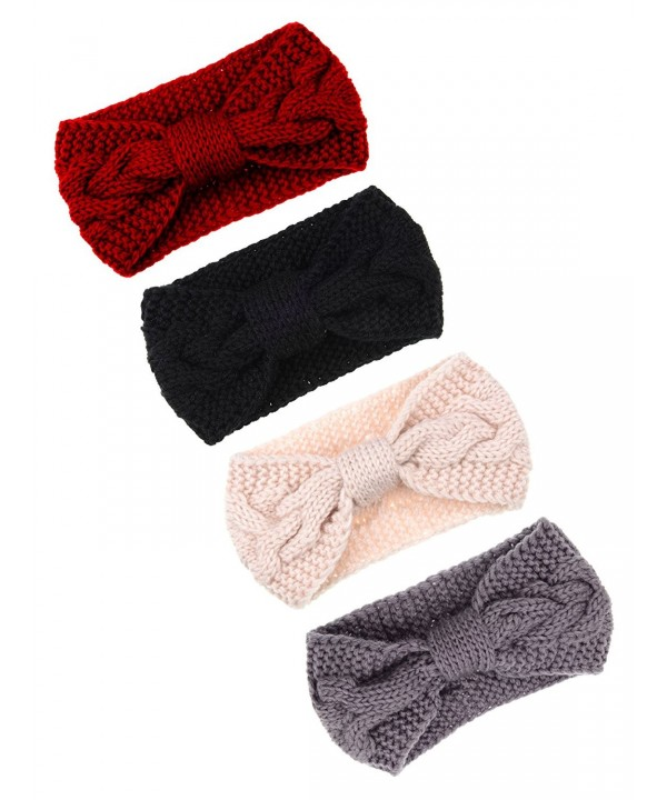 Pangda Headband Crochet Headbands Braided - C7189002G8L