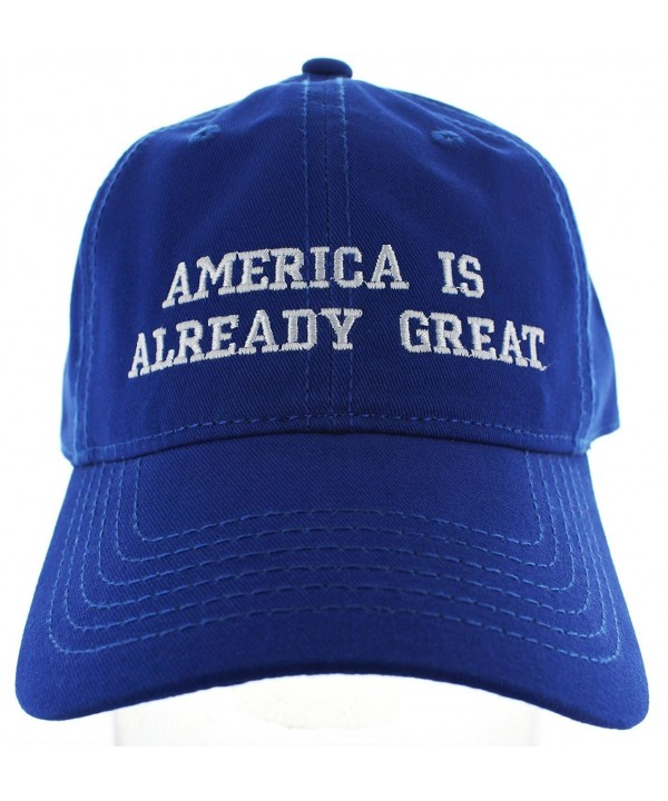 Fuck Trump Hat America Is Already Great Hat Variations - Blue Aiag - CX17WXELN8S