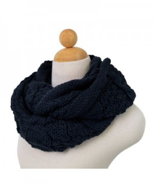 TrendsBlue Premium Winter Thick Infinity in Fashion Scarves