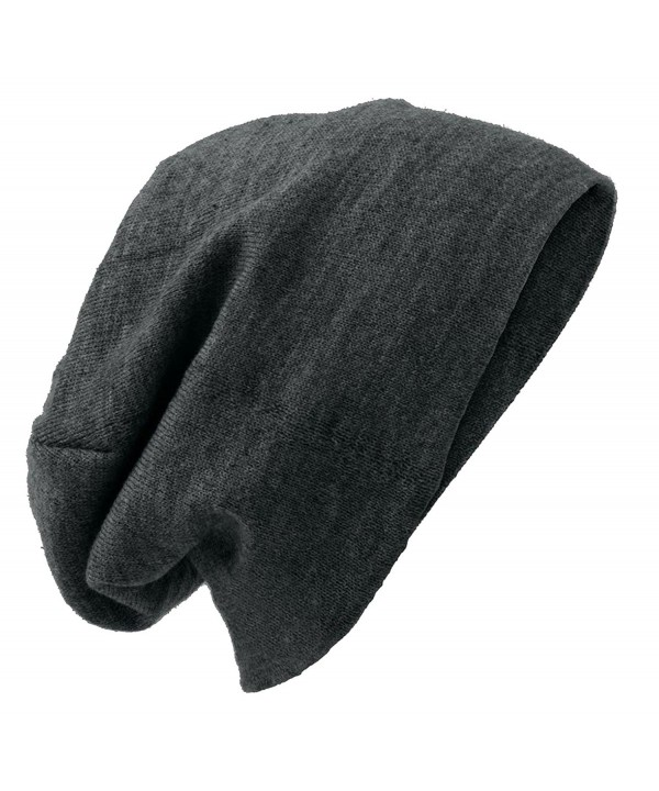 District Slouch Beanie - Charcoal Heather - C611HDY1O1R