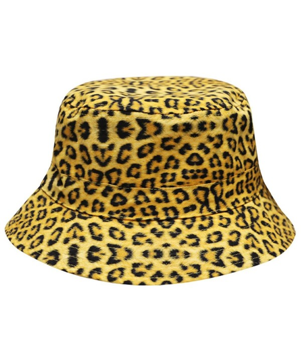 City Hunter Bd1750 Leopard Animal Print Bucket Hat - CF12DSIAPZ1