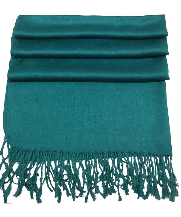 Wedding scarf - Party scarf - Pashmina style - Pajmina style - Cute colors - Teal - CM12O7LREEO