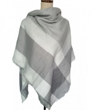 Womens Square Scarves Classic Blanket