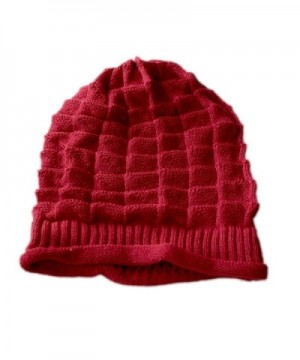 Dealzip Inc Stylish Crochet Plicated in Women's Skullies & Beanies