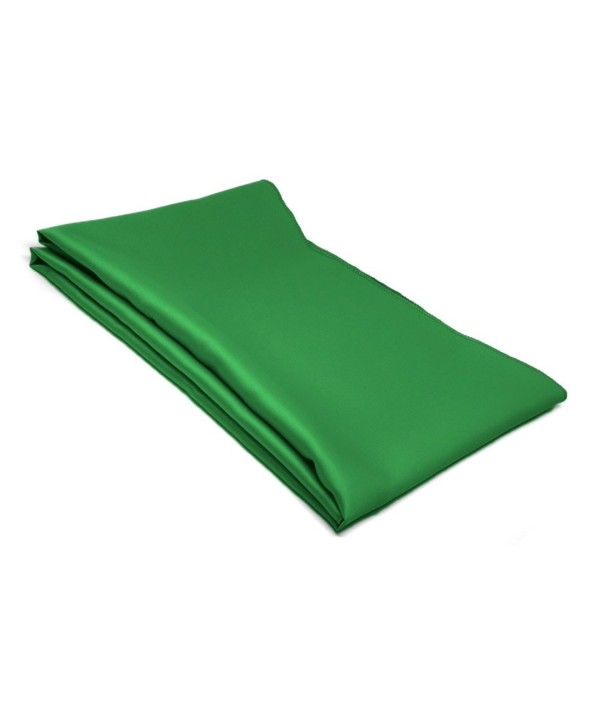 Irish Green Solid Color Scarf - CX12ODEZHVH