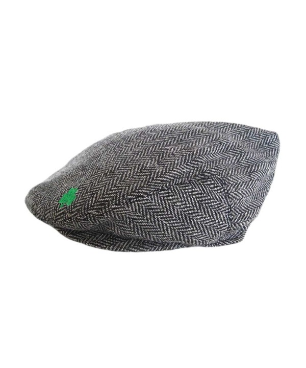 Aran Island Grey Woven In Tweed Cap- Suitable For All Seasons - CQ11O082NCN