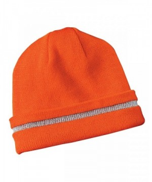Safety Beanie Reflective Stripe Color