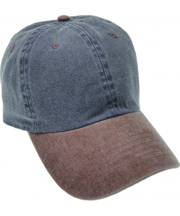 Hand By Hand Aprileo Unisex Dyed Washed Cap Cotton Hat Baseball Ball Cap Polo - 26 Pattern - C5182QGE65G