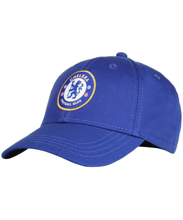 Official Soccer Merchandise Adult Chelsea FC Core Baseball Cap - Royal Blue - CH121FPOD35