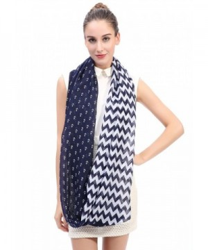 Lina Lily Chevron Infinity Lightweight in Fashion Scarves