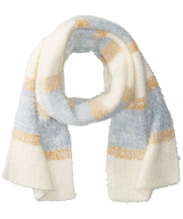 BCBGeneration Women's Easy Snug Cable Scarf - Dusty Blue - CQ183XNDLNT