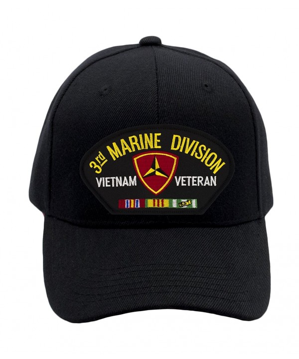 Patchtown USMC - 3rd Marine Division - Vietnam Hat/Ballcap Adjustable One Size Fits Most - CW1882TRETL