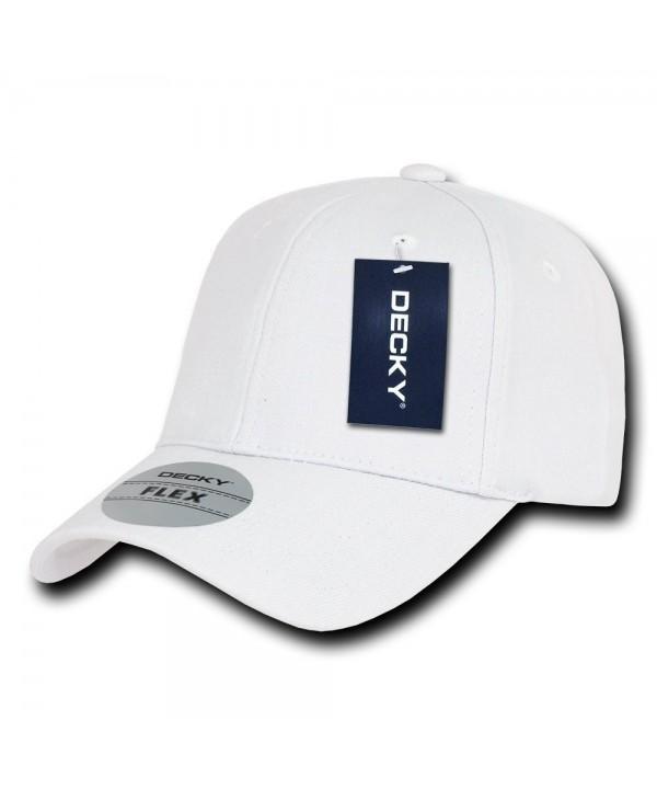 DECKY Fitall Flex Baseball Cap - White - CW1199QDB9P