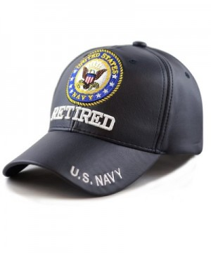 HAT DEPOT Official Embroidered U S Navy Navy