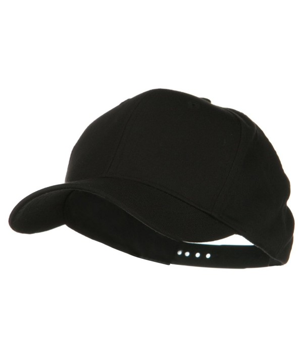 Youth Cotton Twill Pro Style Cap - Black - CX110PN3VKZ