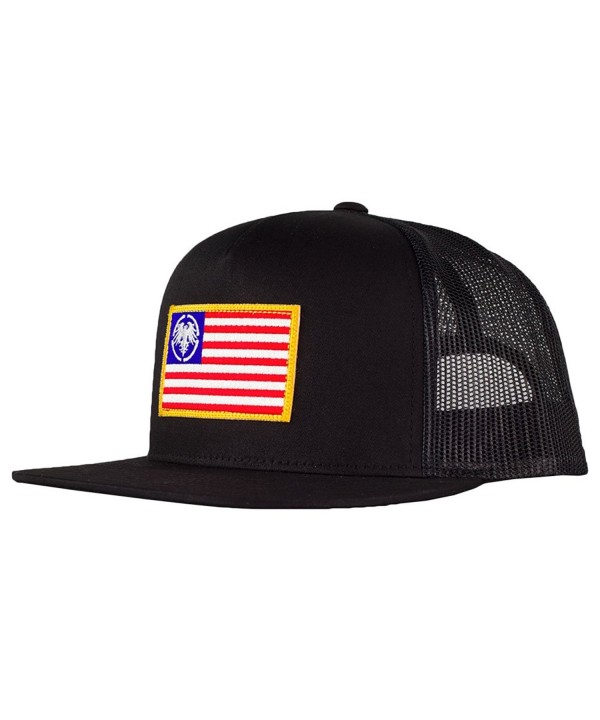 Never Summer USA Eagle Patch Trucker Hat - CZ12NFDV50L