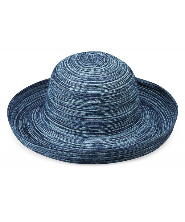 wallaroo Women's Sydney Sun Hat- Packable - Denim - CI1126O9T2Z