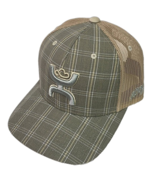 Hooey Brand Cactus Ropes Plaid/Tan Snapback Hat OSFA - CR002 - CT1885XH0CG