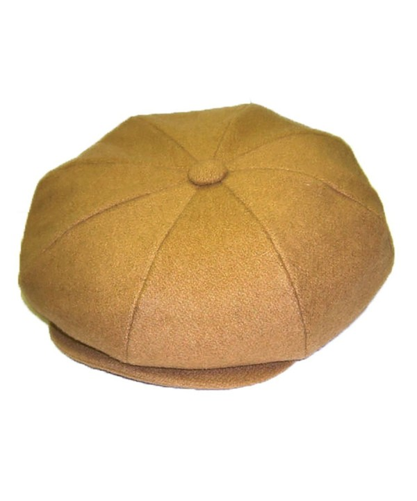 Dobbs Big Apple (Wool) - 8/4 Cap - Camel - CC12NUFAZGS