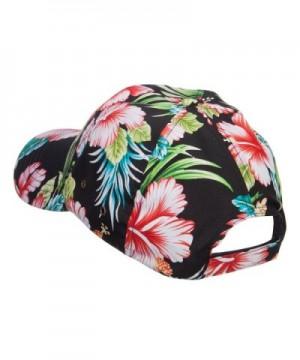 Low Profile Cotton Floral Cap
