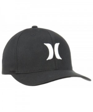 Hurley Men's One and Only Black White Hat - Black/White - C211FP6AWJ9