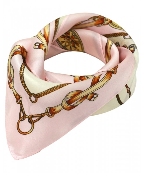 Ayli Women's Mulberry Silk Scarf Various Style - Horseshoes 3 - CJ1282KQPU5
