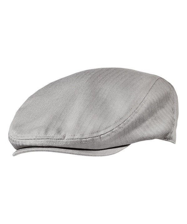 District Men's Cabby Hat - Grey - CM11QDS7UWB