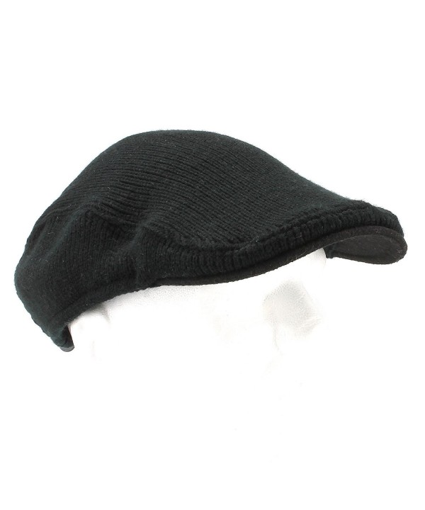 Van Heusen Men's Knit Ivy Cap - One Size - Black - CF11HK0Z2G7