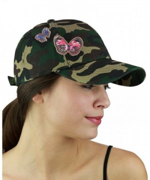 C C Camoflauge Butterfly Adjustable Precurved