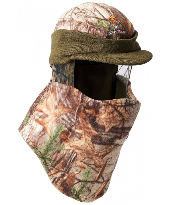Scent-Lok Men's Radar-Styled Fleece Headcover - Realtree Xtra - CW122OK7ENV
