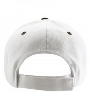 Enimay Two Tone Canvas Baseball Adjustable in Women's Baseball Caps
