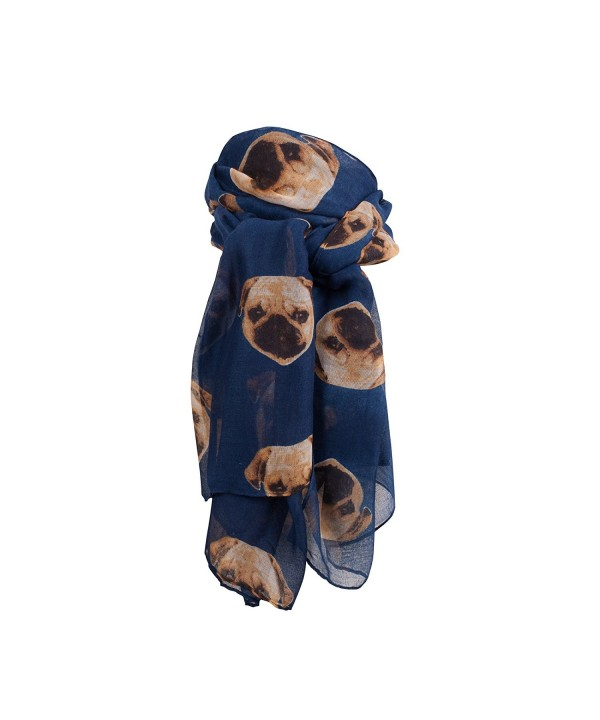 VVSCF-020- Wide Range of Dog Print Ladies Scarves - Style 23 - CZ12DVJ8RRB